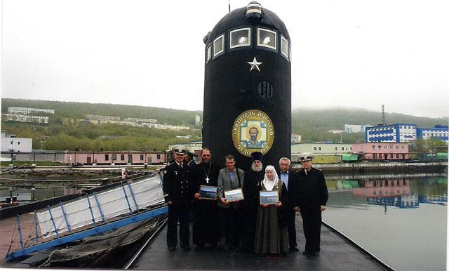 подводная лодка святой победоносец